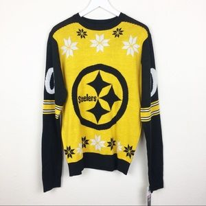[NFL] NEW Pittsburgh Steelers Holiday Sweater